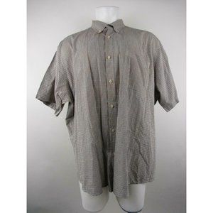 Basic Editions 3XL Cotton Button-Front Shirt